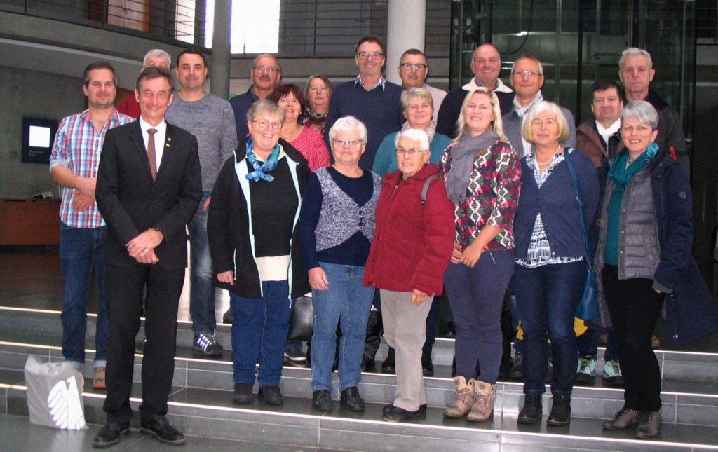 Obst- und Gartenbauverband auf Bildungsreise - Besuch Bundestag - November 2019
